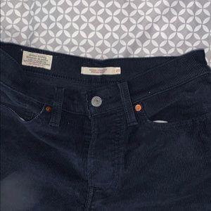 Levi's straight leg courduroy jeans